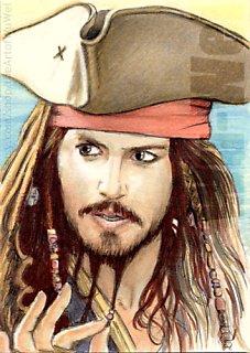 Johnny Depp by wu-wei